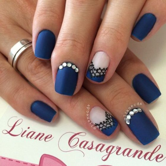 Ideas para decorar las u as de azul mis u as decoradas for El color en la decoracion
