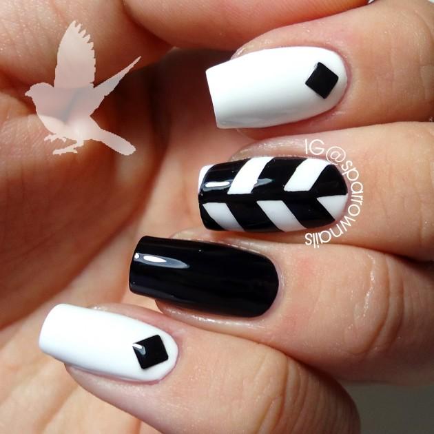 Ideas para decorar las uñas de Negro | Mis Uñas Decoradas