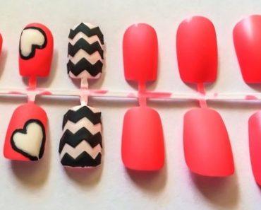 diferentes uñas postizas